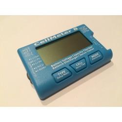 Testeur Voltage 8S avec % et testeur servo