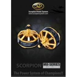 Scorpion MII-2204-2300kv