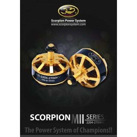 Scorpion MII-2204-2700kv