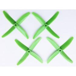 Hélices DAL Quadripales 5040 Vertes PC+glass