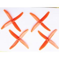 Hélices DAL Quadripales 5040 Oranges PC+glass
