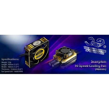 Scorpion Hi-Speed Cooling Fan (40mm)