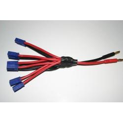 Connecteur 4mm/EC5*5