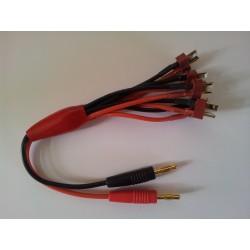 Connecteur 4mm/Tdean*5