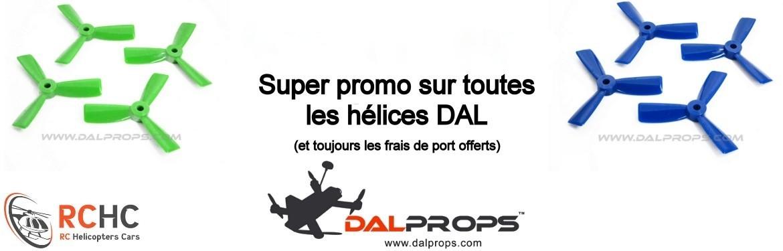 Promotion sur les hélices DAL