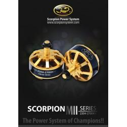 Scorpion MII-2204-2700kv *2